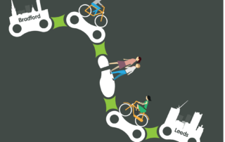 City-connect-chain graphics