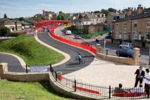 The Big Red Bridge - Trident Way