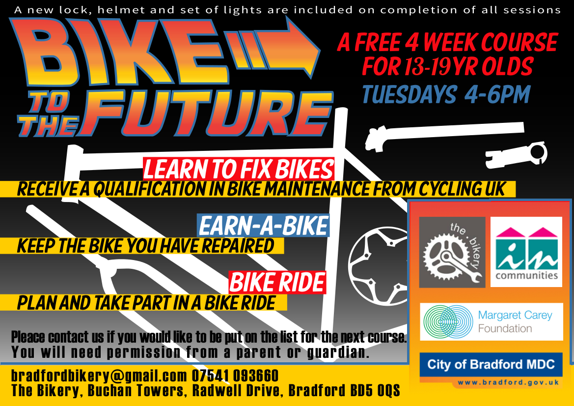 Bike To The Future Youth Project Cyclebradford